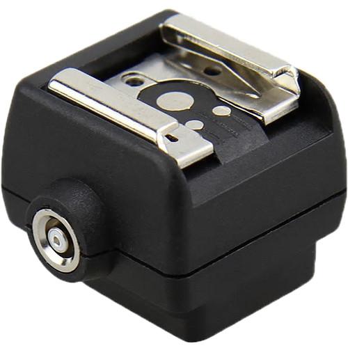 Nodal Ninja JSC-6 Sony Auto-Lock Accessory Shoe or Minolta ISO Flash Shoe to PC Sync Adapter