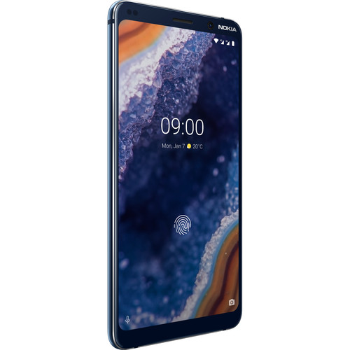 Nokia 9 PureView TA-1082 128GB Smartphone (Unlocked, Midnight Blue)