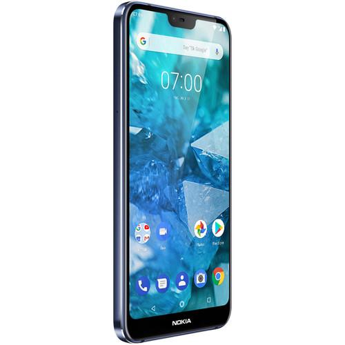 Nokia 7.1 Dual-SIM 64GB Smartphone (Unlocked, Blue)