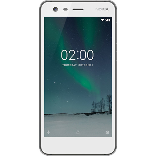 Nokia Nokia 2 TA-1035 8GB Smartphone (Pewter/White)