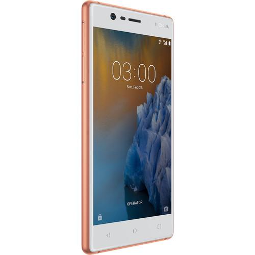 Nokia 3 TA-1038 Dual-SIM 16GB Smartphone (Unlocked, Copper)