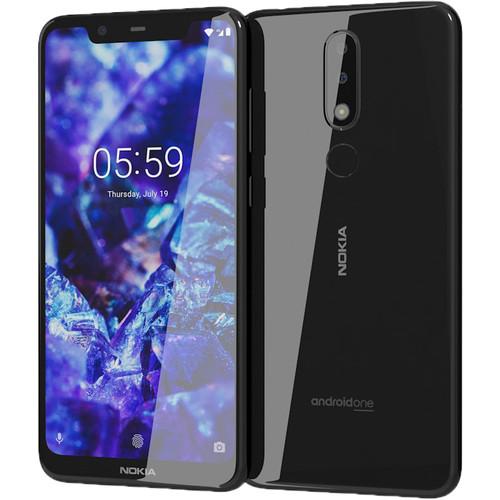 Nokia 5.1 Plus TA-1120 Dual-SIM 32GB Smartphone (Unlocked, Black)
