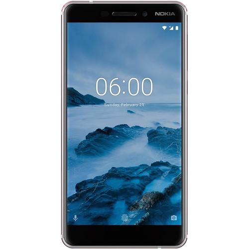 Nokia 6.1 (2018) 32GB Smartphone (Unlocked, White/Iron)