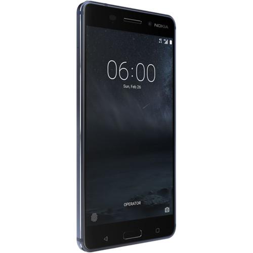 Nokia 6 TA-1025 32GB Smartphone (Unlocked, Tempered Blue)