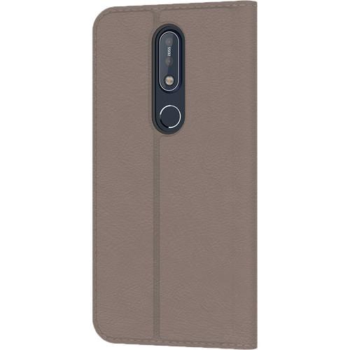 Nokia 7.1 Flip Cover ( Grey )