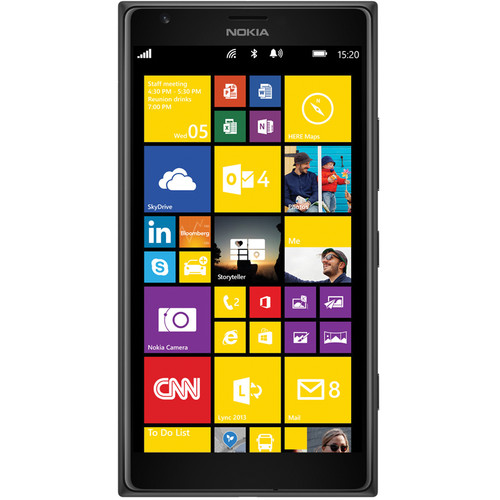 Nokia Lumia 1520 RM-938 32GB Smartphone (Unlocked, Black)