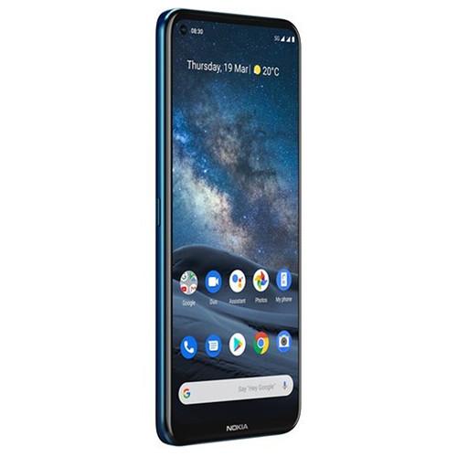 Nokia 8.3 Dual-SIM 128GB 5G Smartphone (Unlocked, Polar Night)