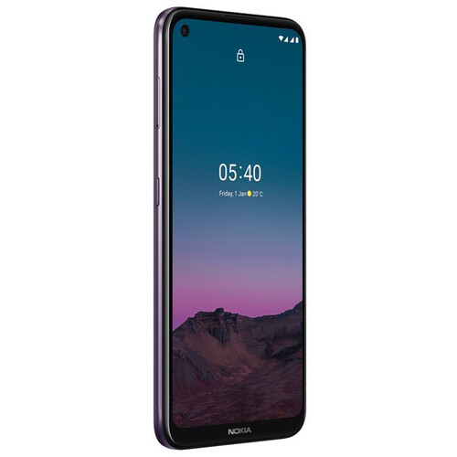 Nokia 5.4 Dual-SIM 128GB Smartphone (Unlocked, Dusk)