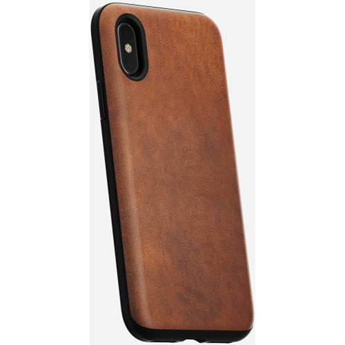 Nomad Rugged Case for iPhone X (Rustic Brown)