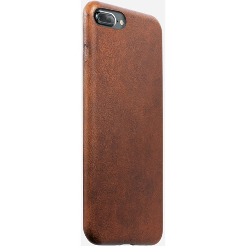 Nomad Leather Case for iPhone 7 Plus/8 Plus (Rustic Brown)