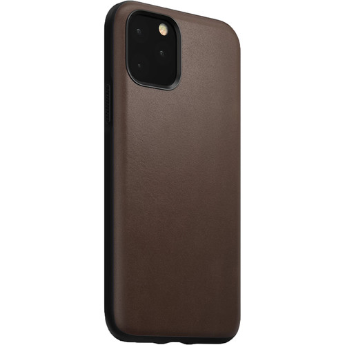 Nomad Rugged Case for iPhone 11 Pro (Rustic Brown Leather)