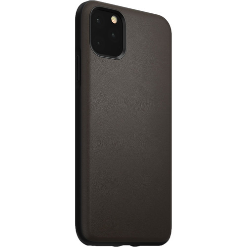 Nomad Rugged Active Leather Case for iPhone 11 Pro Max (Mocha Brown)