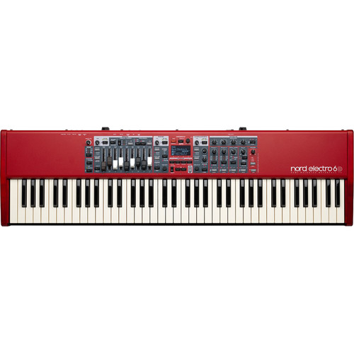 Nord Electro 6D 73-Note Semi-Weighted Waterfall Keyboard
