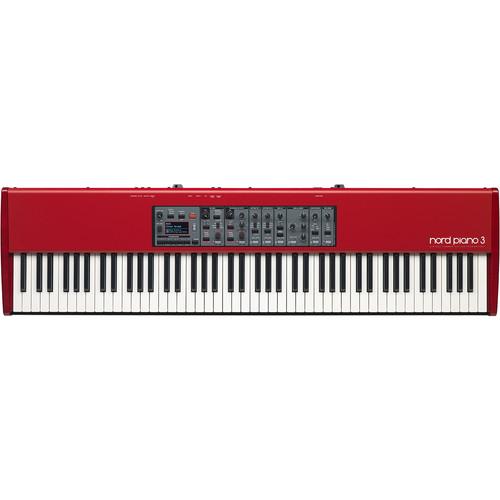 Nord Piano 3 88 Key Keyboard - 1GB of Piano / 256MB Sample Library Memory