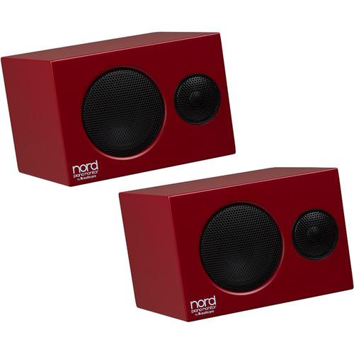 Nord Piano Monitors V2 (Red, Pair)