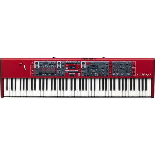 Nord Stage 3 88 88-Note Weighted Hammer-Action Keyboard