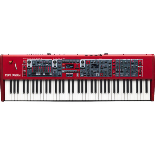 Nord Stage 3 HP76 76-Note, Hammer-Action Portable Keybed