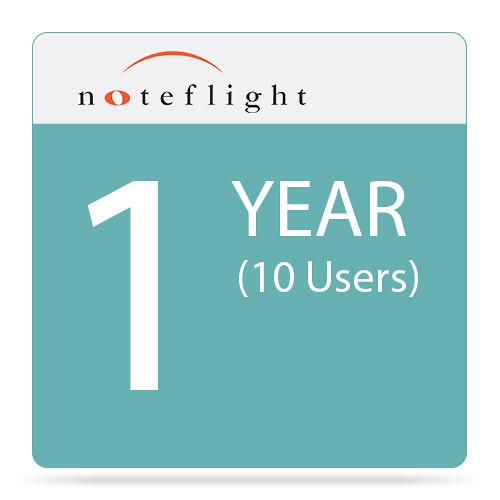 Noteflight Learn - Online Music Learning Program Subscription (1 Year, 10-User)