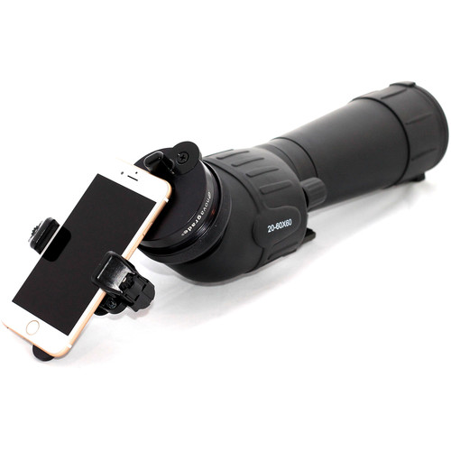 Novagrade Universal Standard Digiscoping Adapter for Smartphones (Clamshell Packaging)