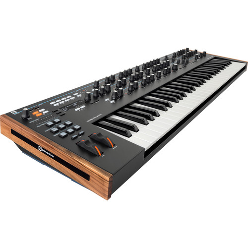 Novation Summit Two-Part 16-Voice Polyphonic Synthesizer