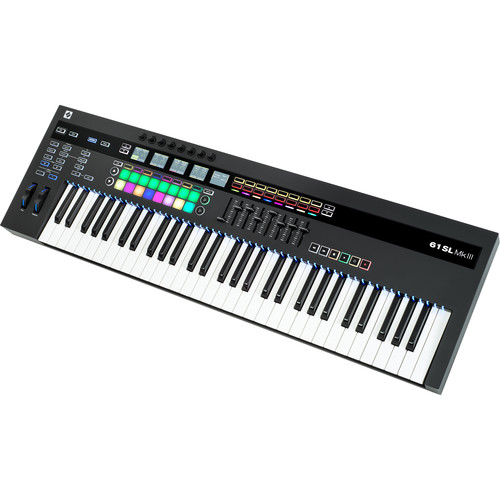 Novation SL MkIII - MIDI and CV Keyboard Controller with Sequencer (61-Note Keyboard)