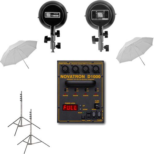 Novatron D1000 2-Light Starter Kit