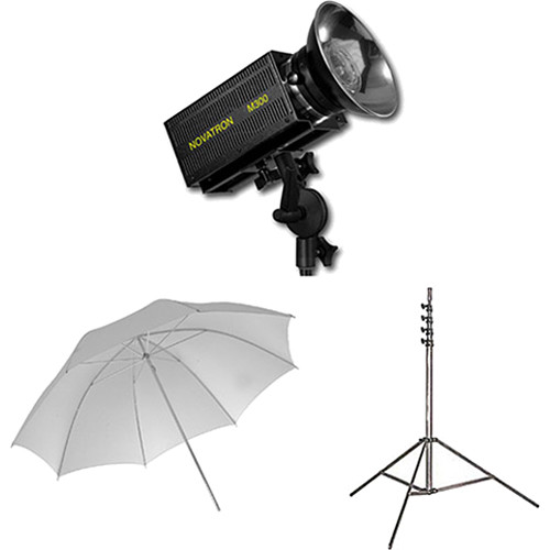 Novatron M300 2-Monolight Kit with Umbrellas