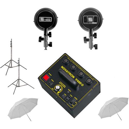 Novatron V400-D Mini-Pro 2-Light Kit (120 VAC)