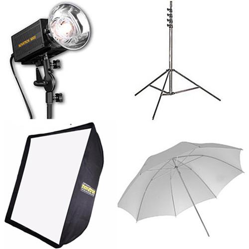 Novatron M500 2-Monolight Kit with Umbrella and Softbox
