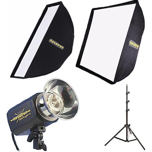 Novatron M150 2-Monolight Kit with Softboxes