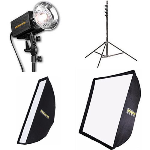 Novatron M500 2-Monolight Kit with Softboxes