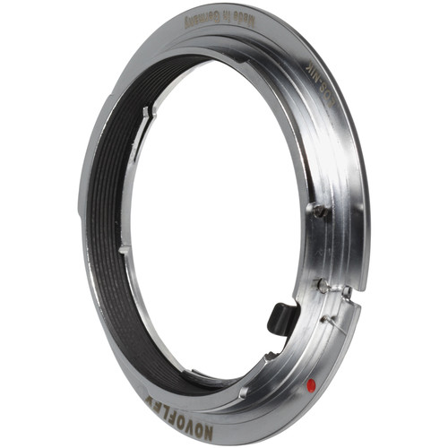 Novoflex Lens Mount Adapter - Nikon Lens to Canon EOS Body