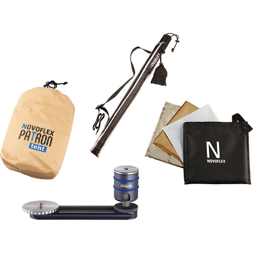 Novoflex PATRON Photo Umbrella Set (Sand)