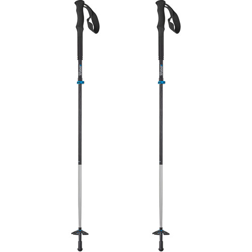 Novoflex QuadroLeg III Folding Walking Stick (Pair)