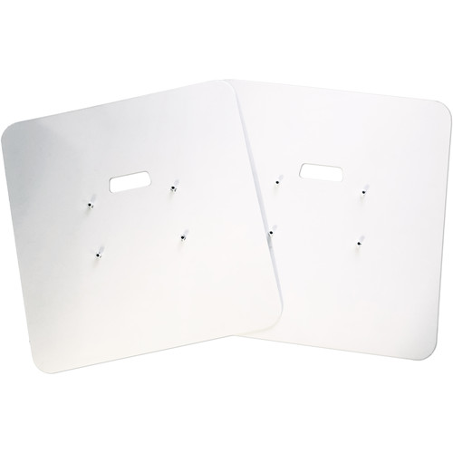 Novopro Heavy-Duty Base Plates with Premium Bag for PS1XL or PS1XXL Podium Stands (Pair)