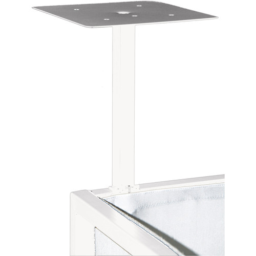 Novopro Add-On Podium Shelves for SDX DJ Booths (Pair, White)