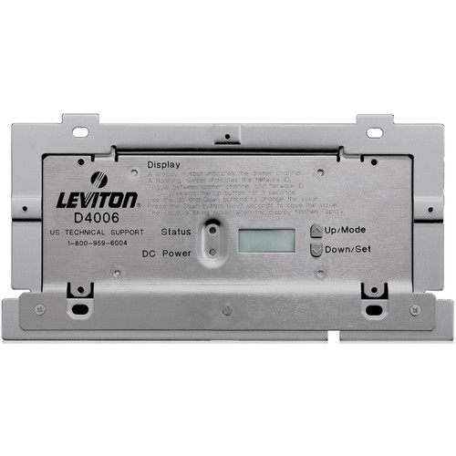 NSI / Leviton Dimensions 4000 System Remote Dimmer. (6) 120V Dimmers, Luma-Net Control.
