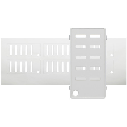 NSI / Leviton Label Kit for 6-Button Stations (White)