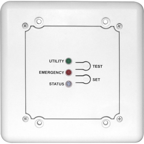 NSI / Leviton Single Zone, Silent Emergency Transfer Control with Universal Dimming Capability (White)