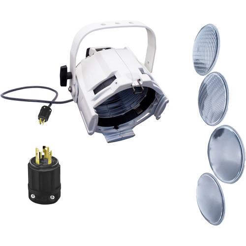 NSI / Leviton Multi-Lens PAR with 4 Lenses and L5-20 Plug (White)
