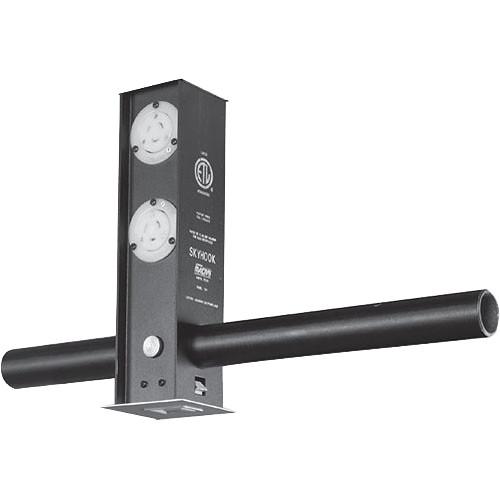 NSI / Leviton Retractable Quad 20A Edison Skyhook Receptacle