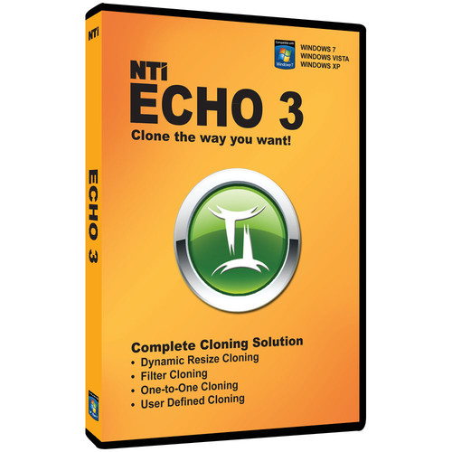 NTI 8801-DVD Echo 3 Cloning Software