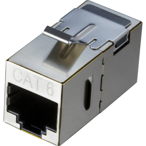 NTW CAT6 F/F Shielded Keystone Coupler