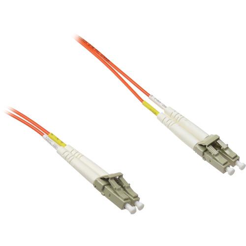 NTW Lc/Lc Mm Dup 62.5/125Um Fiber Optic Jumper Cable (8', Orange)