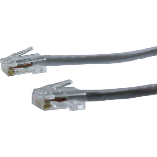 NTW 3' CAT6 Non-Booted Cable Gray