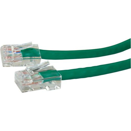 NTW 4' CAT6 Non-Booted Cable Green