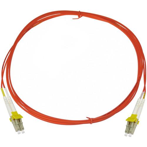 NTW net-Lock LC/LC Fiber Patch Cable OM2 Multimode 50/125 (9.9', Orange)