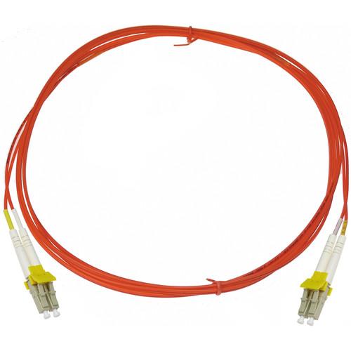 NTW net-Lock LC/LC Fiber Patch Cable OM1 Multimode 62.5/125 (9.9', Orange)