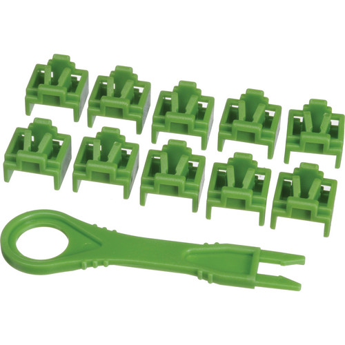 NTW PortBlocker 10-Pack (Green)