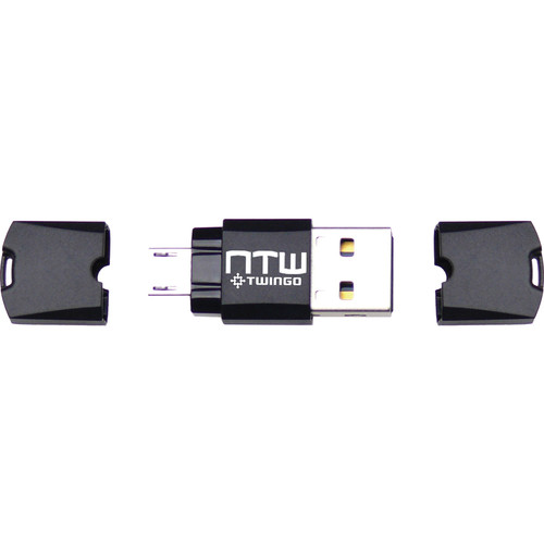 NTW Twingo OTG-Dual USB Swappable MicroSD Card Reader